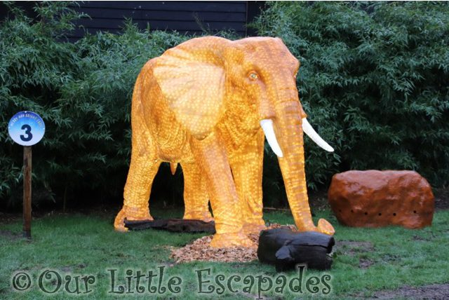 elephant merry bright trail colchester zoo christmas