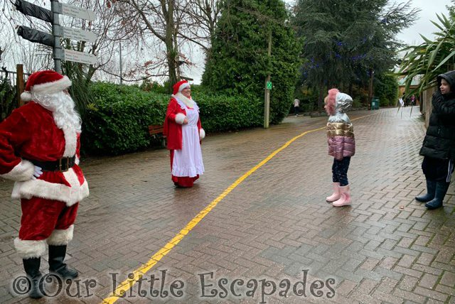 ethan little e talking father christmas mother christmas colchester zoo