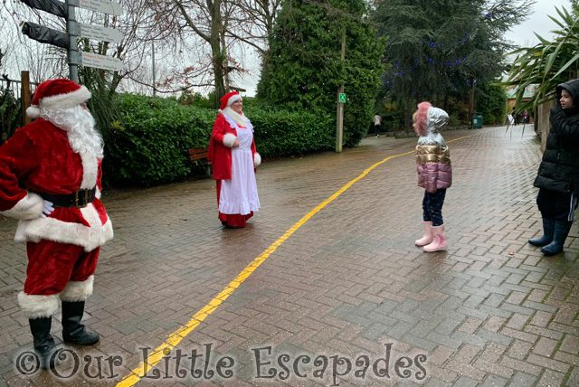 ethan little e talking mother father christmas colchester zoo