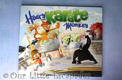 harry the karate monkey