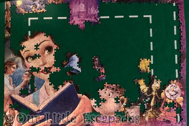 puzzle progress beauty and the beast january 28th 2021 Week 4