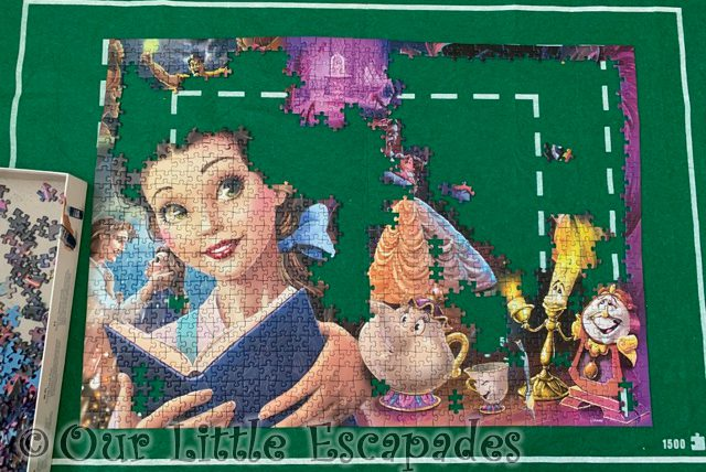puzzle progress beauty and the beast january 29th 2021 Week 4