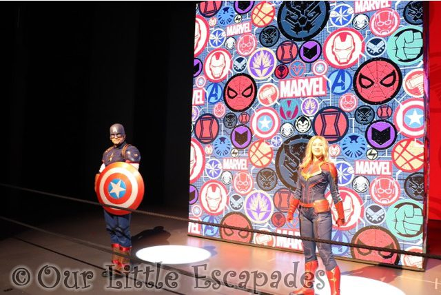 captin marvel captin america marvel selfie spots disneyland paris