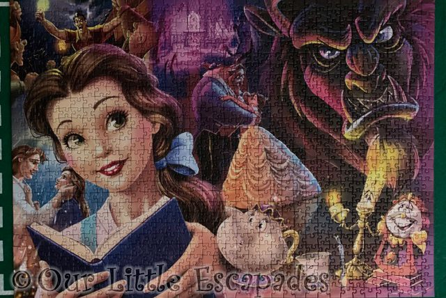 complete beauty and the beast ravensburger puzzle 2021 Week 5