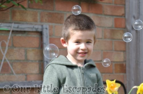 ethan bubbles nannys garden featured image