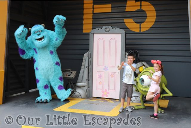 ethan little e sully monsters inc disneyland paris