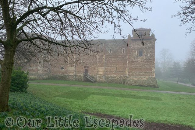 foggy colchester castle 2021 Week 5