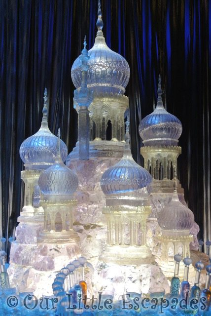 ice palace sculpture harry potter yule ball
