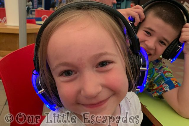 little e ethan silent cinema headphones first family holiday butlins