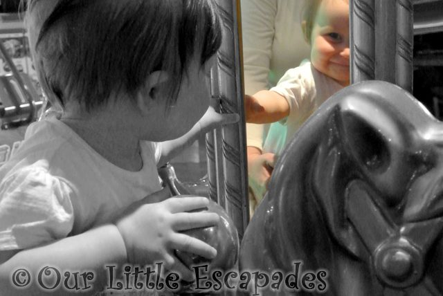 little e mirror carousel horse featured image