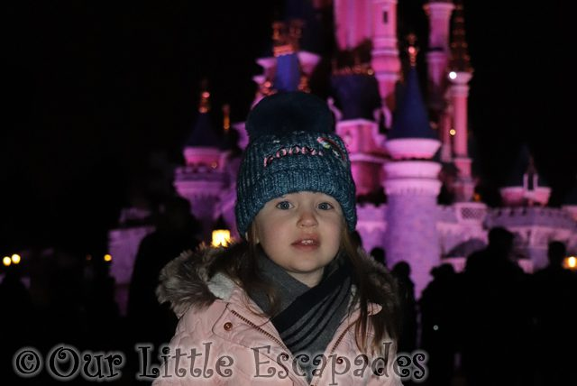 little e pink castle disneyland paris
