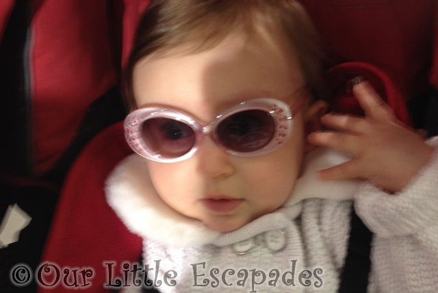 little e wearing sunglasses featured image