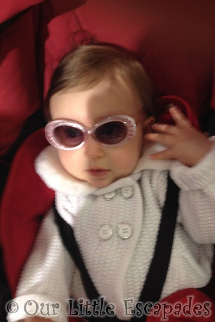 little e wearing sunglasses my sunday photo Baby Cool