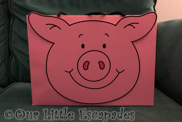 percy pig pink gift bag