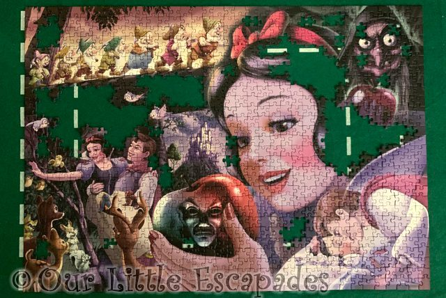snow white puzzle nearly complete