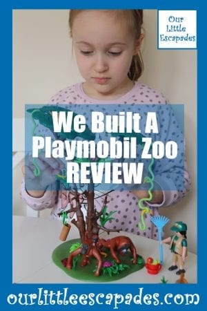 We Built A Playmobil Zoo REVIEW