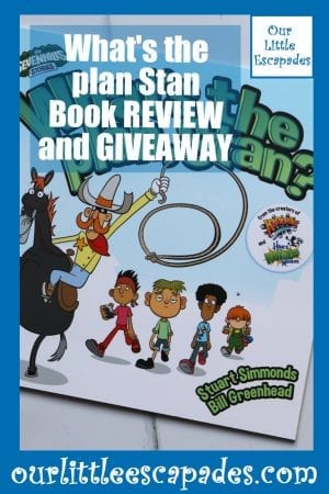 Whats the plan Stan Book REVIEW and GIVEAWAY