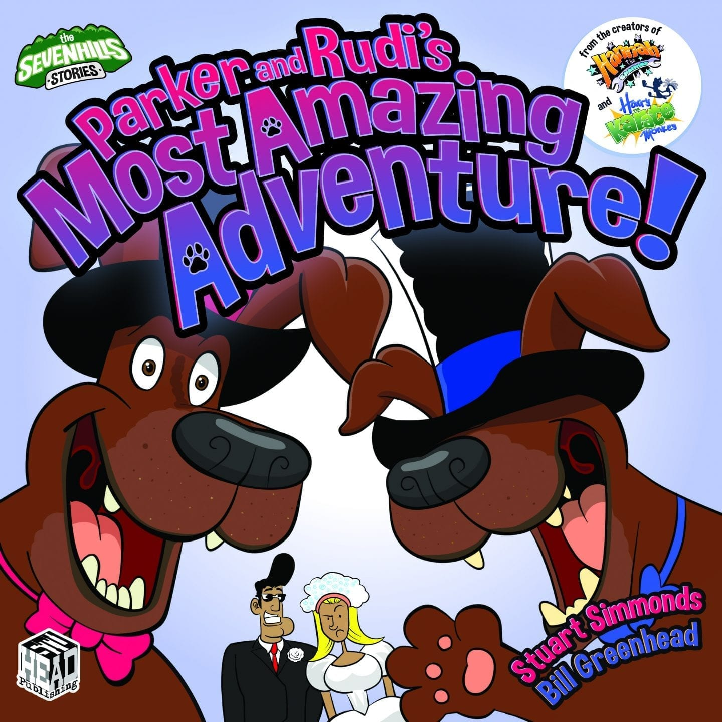parker and rudis most amazing adventure official book cover