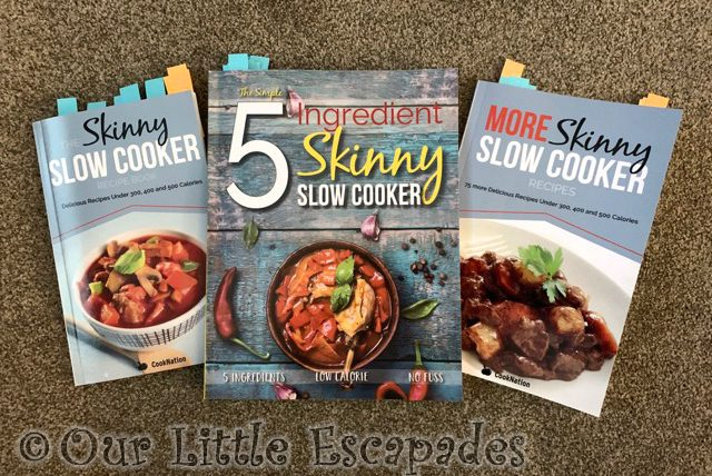 skinny slow cooker cook books