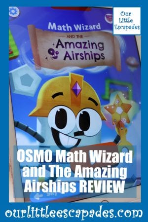 OSMO Math Wizard and The Amazing Airships REVIEW