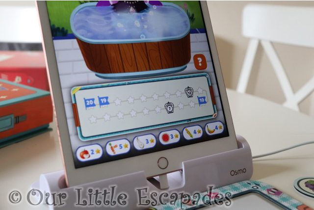 swimming hippo numbers traps bento box osmo math wizard enchanted world games