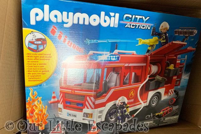 playmobil city action fire engine box 2021 Week 23