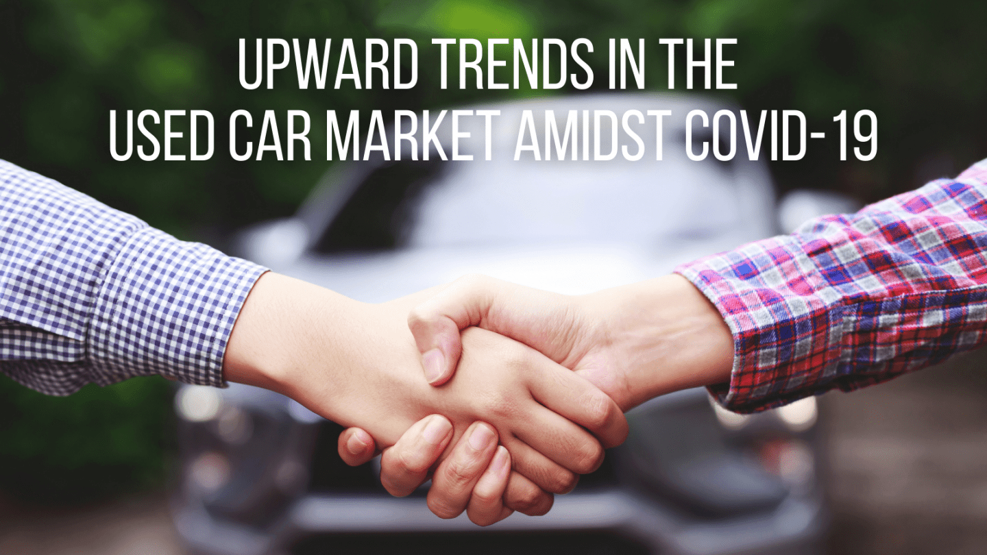 upward trends in the used car market amidst covid 19